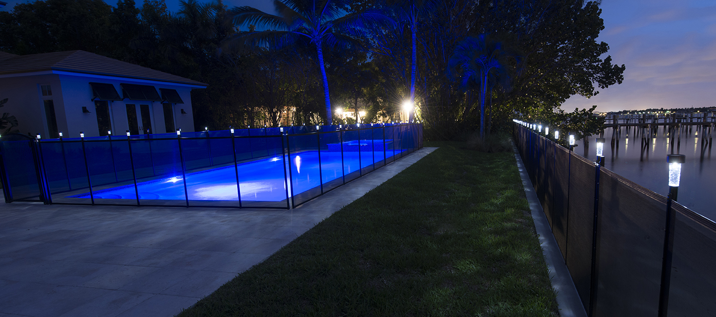 Solar Light for Pool Fence