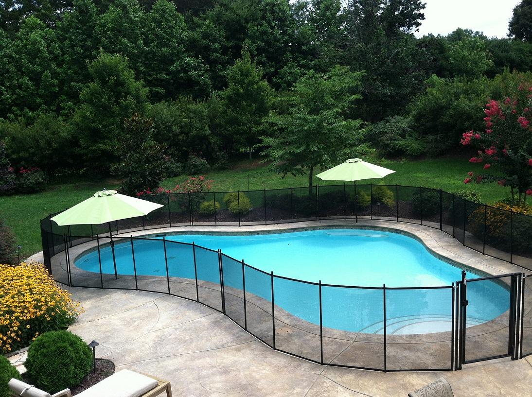 Diy Pool Fence Installation Pet Fence Diy By Life